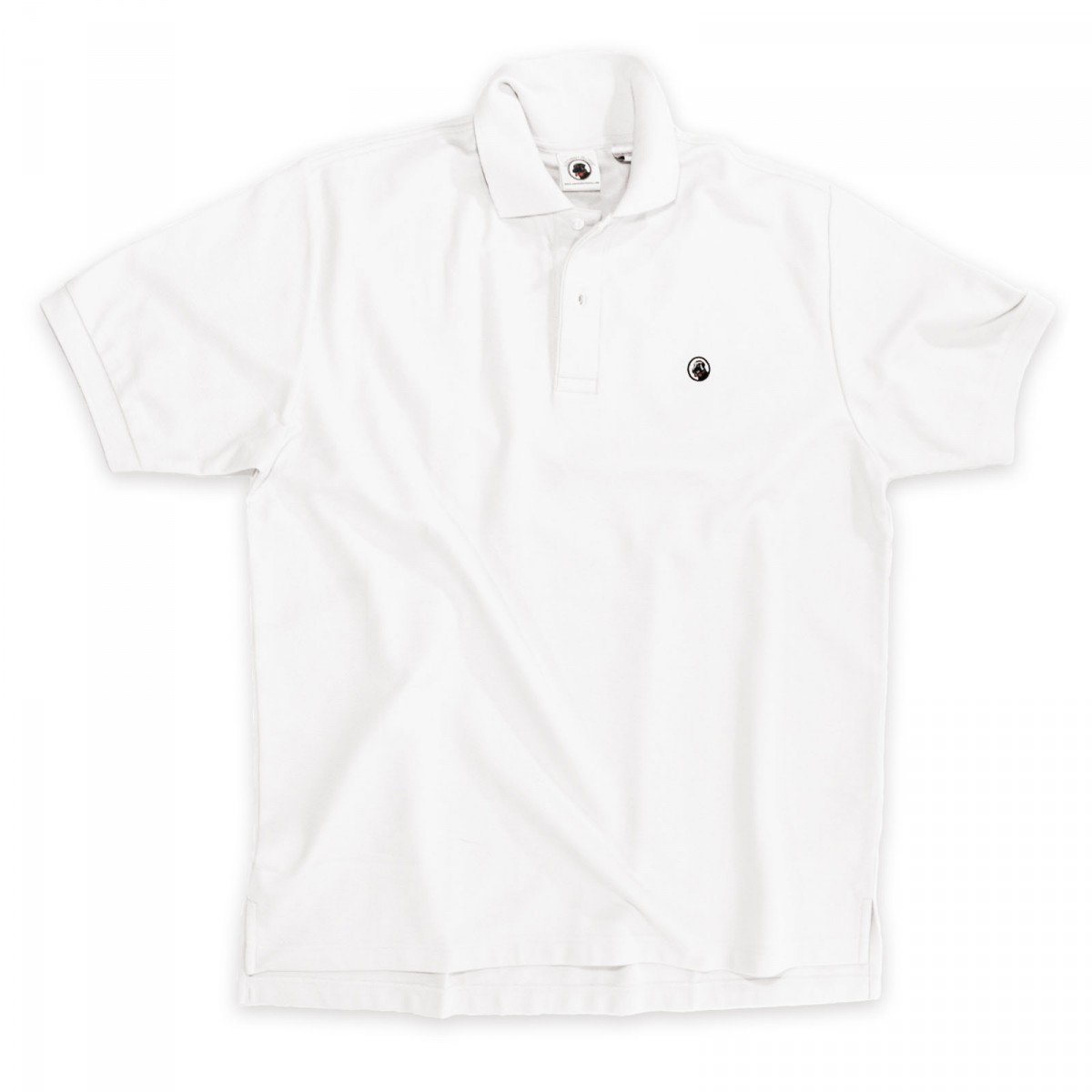 "Proper Polo ""Laid Back"" Cotton White"